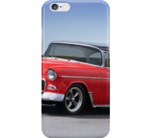 1955 Chevrolet Bel Air 'Two Door Hardtop' iPhone Case/Skin