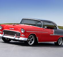 1955 Chevrolet Bel Air 'Two Door Hardtop' by DaveKoontz