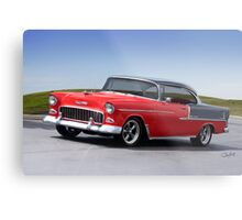 1955 Chevrolet Bel Air 'Two Door Hardtop' Metal Print