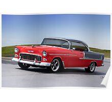 1955 Chevrolet Bel Air 'Two Door Hardtop' Poster
