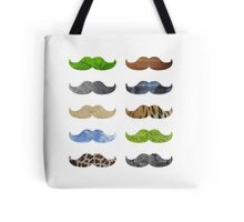Pattern Moustache Mustache Tote Bag