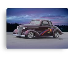 1938 Chevrolet 'Plum Crazy' Coupe Canvas Print