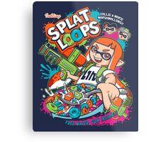 Splat Loops Metal Print