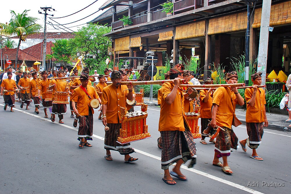 Balinese cremation ceremony 2 by Adri  Padmos