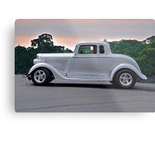 1934 Plymouth 'Casper' Coupe  Metal Print
