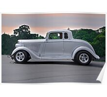 1934 Plymouth 'Casper' Coupe  Poster