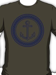 Anchor inside of ropes T-Shirt