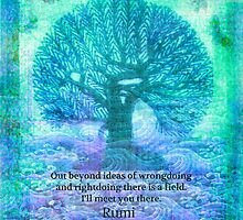 Rumi Friendship Peace Quote by goldenslipper