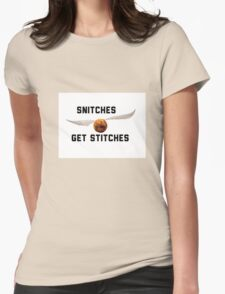 Harry Potter Snitch Womens Fitted T-Shirt