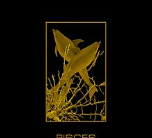 The Pisces Zodiac Emblem by Vy Solomatenko