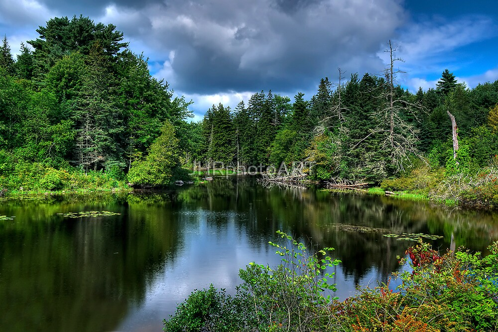 Maine - Lake  by JHRphotoART