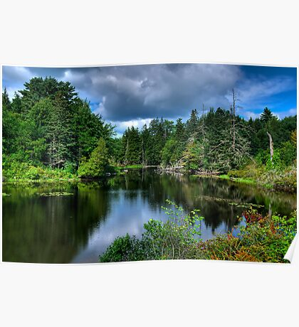 Maine - Lake  Poster