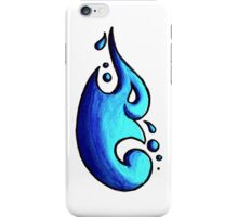 Tina / طينة (cyan blue) iPhone Case/Skin