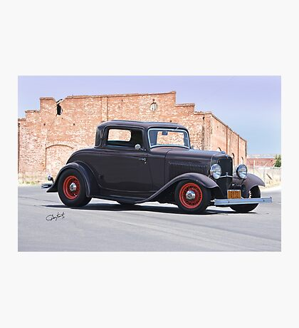 1932 Ford 'The Duece' Coupe Photographic Print
