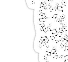 Musical Downfall Sticker