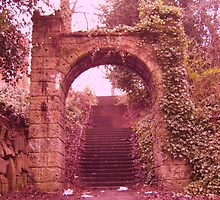 Stairway to Blood Gate  by RedFoxLou