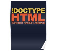 HTML Poster