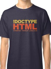 HTML Classic T-Shirt