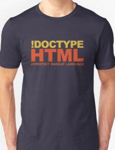 HTML Unisex T-Shirt