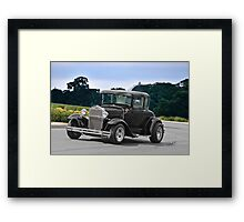 1932 Ford Model A Coupe  Framed Print