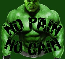 No Pain No Gain by blob65