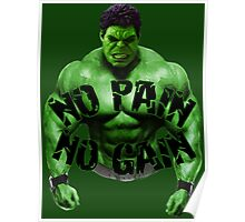 No Pain No Gain Poster