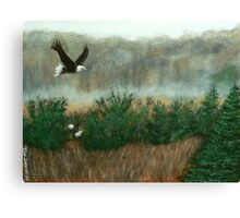 Prarie du sac eagle Canvas Print