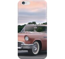 1957 Ford Thunderbird 'Copper Penny' iPhone Case/Skin