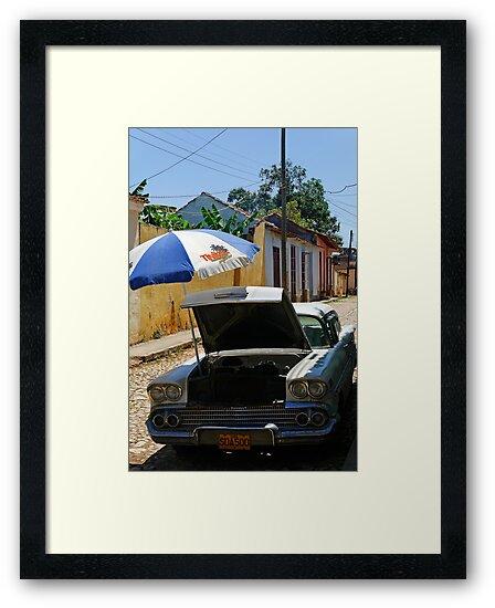 Air con, Cuba style, Trinidad, Cuba by buttonpresser