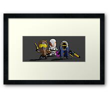 Guardians of the Solar System Framed Print