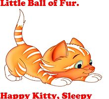 Soft Kitty, Warm Kitty, Little Ball of Fur - T Shirts, Stickers and Other Gifts by zandosfactry