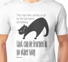 The Well-Read cat -1 Unisex T-Shirt