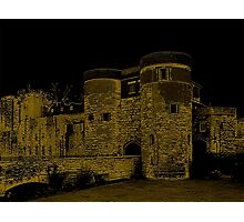 Old London Tower Entrance Photographic Print