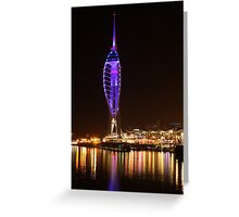Harbour Lights, Portsmouth Greeting Card