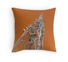 Tower Power Throw Pillow