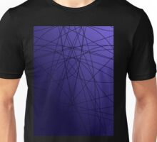 Purple Symmetry Unisex T-Shirt