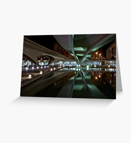 Bridges reflected in the CAC Greeting Card