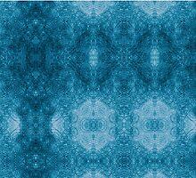 Pseudo Pompous Baroque - Aqua Blue Filigree Tribute by Pseudopompous68