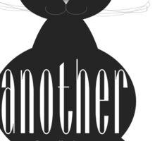 The Well-Read cat - 4 Sticker