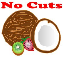 No buts, No Cuts, No Coconuts - T Shirts, Stickers and Other Gifts by zandosfactry