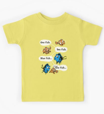 One Fish, Blue Fish Kids Clothes