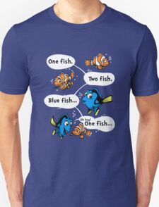 One Fish, Blue Fish Unisex T-Shirt