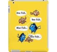 One Fish, Blue Fish iPad Case/Skin