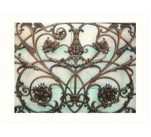 Florentine grate Art Print