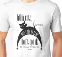 The Well-Read cat - 7 Unisex T-Shirt