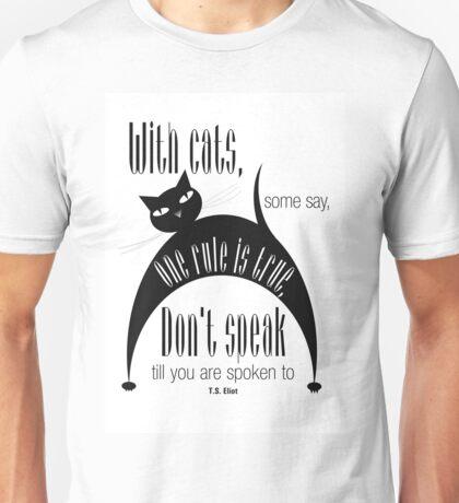 The Well-Read cat - 7 Unisex T-Shirt