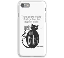 The Well-Read cat - 8 iPhone Case/Skin