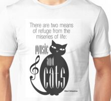 The Well-Read cat - 8 Unisex T-Shirt