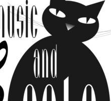 The Well-Read cat - 8 Sticker