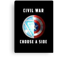 Marvel Civil War Canvas Print